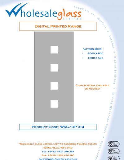 Designs on Letterheads Digi Print WSG 15