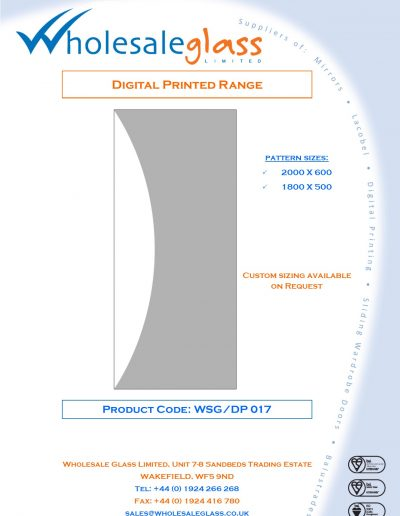 Designs on Letterheads Digi Print WSG 18