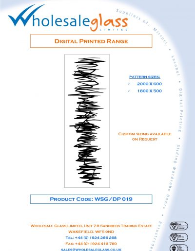 Designs on Letterheads Digi Print WSG 20