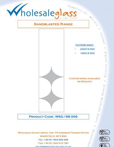 Designs on Letterheads Sandblast Range WSG 10
