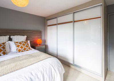 15 White glass with orange stripe low res