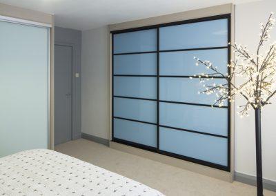 33 Black frame 5 panel sky blue low res