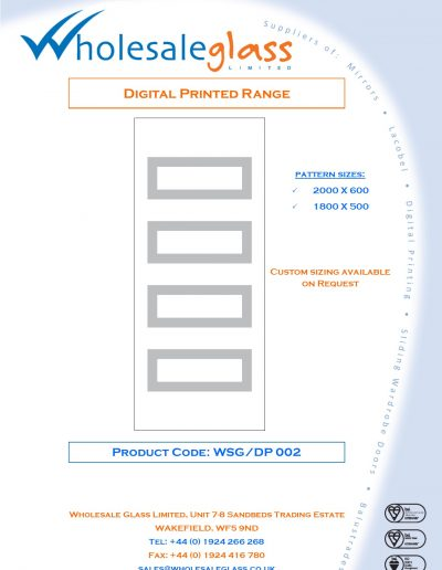 Designs on Letterheads Digi Print WSG 3
