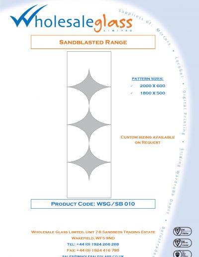 Designs on Letterheads Sandblast Range WSG 11