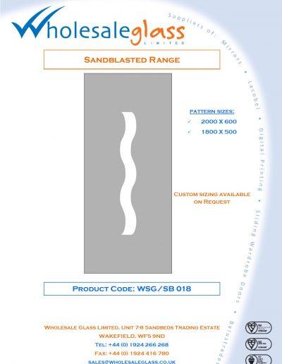Designs on Letterheads Sandblast Range WSG 19